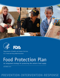 cover to Food Protection Plan