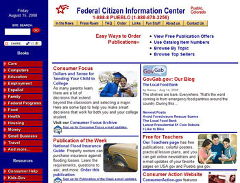 FCIC Home Page.