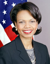 Photo of Condoleezza Rice, Secretary of State