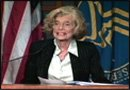Eunice Kennedy Shriver speaking at the NICHD renaming event