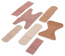 Photograph of assorted fabric bandages