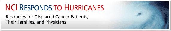 NCI Responds to Hurricanes