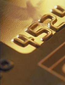 Close up view of the Voyager Fleet card with gold background