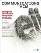 Cover of Communications of the ACM Current Issue