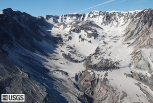 Mount St. Helens from north