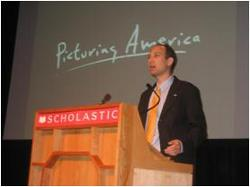 Deputy Secretary Troy delivers remarks at a National Endowment for the Humanities' Picturing America event.