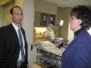 Deputy Secretary Troy visits Alegent Health's Lakeside Hospital