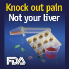 Knock out pain, not your liver.