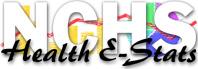 N C H S Health E Stats logo