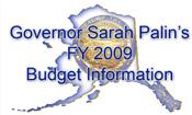 Gov. Palin's budget