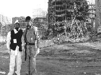 ATSDR staff at Ground Zero in New York City.
