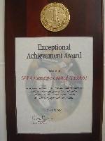 photo of GEWA council award