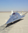 X-24B on lakebed