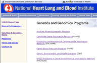 Programs for Genomic Applications