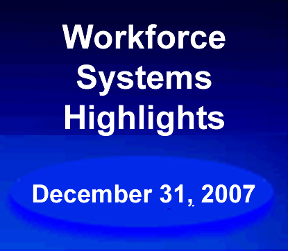 Workforce System Results