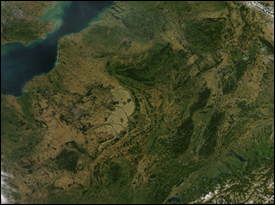 : Clear Skies Over Western Europe