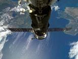 Progress supply craft on ISS