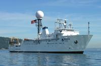 NOAA ship Okeanos Explorer.