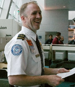 Everyone traveling by air is screened by one of our Security Officers who make sure air travel is secure.