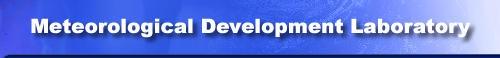 Meterorolgical Development Laboratory banner