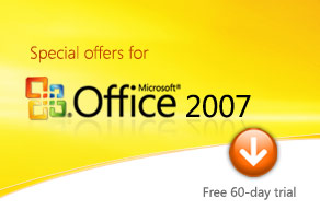 Special offers for Microsoft Office 2007