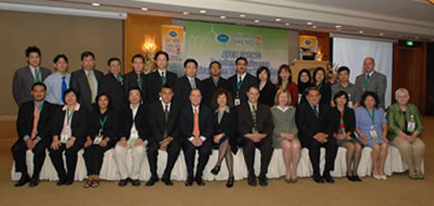 Asia-Pacific Economic Cooperation (APEC) Pandemic Influenza Train-the-Trainer Workshop attendees