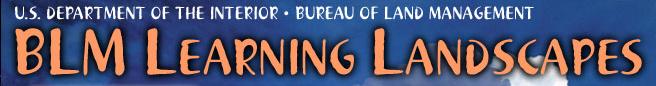 BLM Learning Landscapes banner