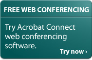 Acrobat Connect: Free web conferencing for 2006. Try Now ›