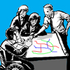 illustration of a planning session