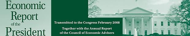 Economic Report of the President, 2008