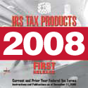 IRS Tax Products 2008 DVD