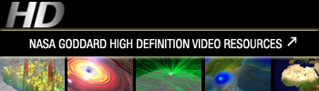 NASA Goddard High Definition Video Resources