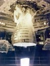 Space Shuttle Main Engine firing