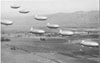 L-class airships on a training flight near Naval Air Station Moffett Field, California, in February 1944