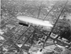 Akron, the world's largest dirigible, pays its first visit to Washington, D