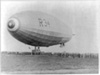 The landing of the Navy dirigible R34 at Mineola, New York, 1919