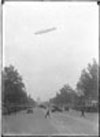 The Graf Zeppelin flying over the U.S. Capitol, 1920. Photo taken by Theodor Horydczak.