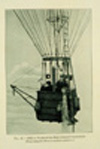 A balloon equipped for meteorological observations
