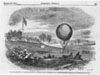 The war balloon at General McDowell's headquarters preparing for a reconnaissance