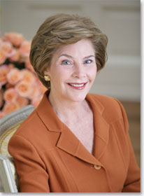 First Lady Laura Bush