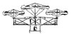 This 1815 design for a primitive helicopter by Cossus appeared in Octave Chanute's Progress in Flying Machines