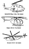 Helicopter rotor configurations
