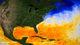 This animation shows the progression of warm waters slowly filling the Gulf of Mexico (shown in yellow, orange, and red). This natural annual warming contributes to the possible formation of hurricanes in the Gulf. SST data shown here ranges from January 1 to the present.