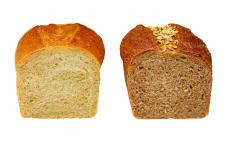 Photograph of two loaves of bread