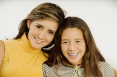 Photograph of a mother and a teenage daughter