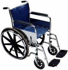 Photograph of a wheelchair