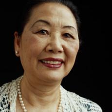 Photograph of a senior woman