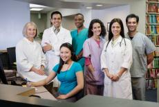 Photograph of various healthcare professionals
