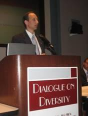 Deputy Secretary Troy speaks on the Administration's vision for the future of  health care at the Dialogue on Diversity's 2008 Health Care Symposium.