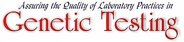 LGB logo (Assuring the Quality of Laboratory Practices in Genetic Testing)
